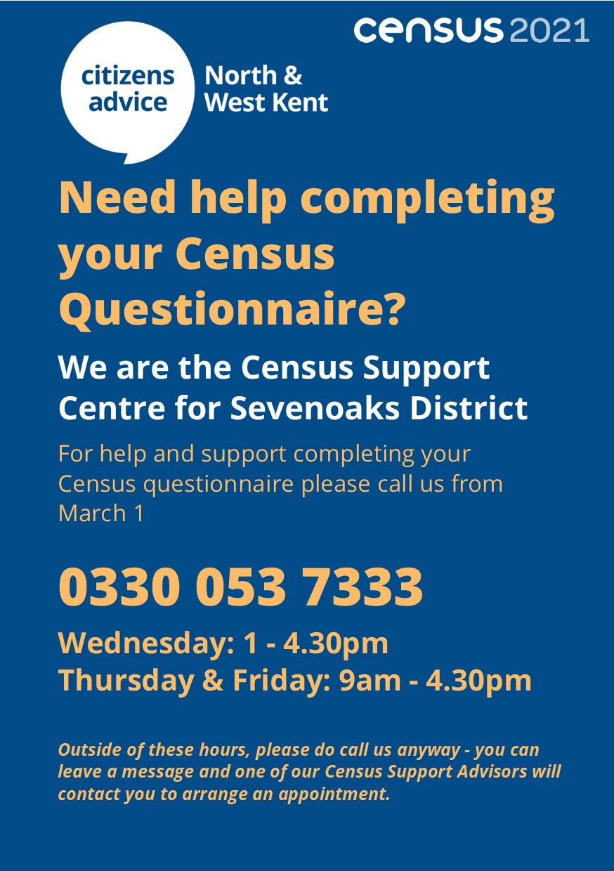 Census support for residents